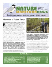 Nature Manitoba News: November/December 2013