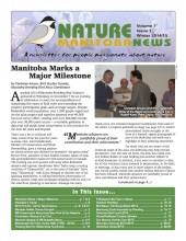 Nature Manitoba News: Winter 2014/15