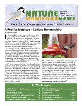 Nature Manitoba News: January/February 2014