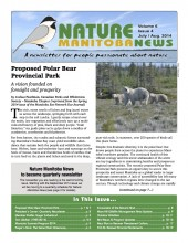 Nature Manitoba News: July/August 2014