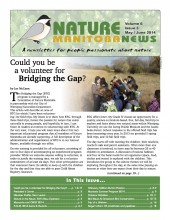 Nature Manitoba News: May/June 2014